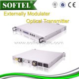 Transmisor óptico 1310nm de la fibra de la red de Hfc con el diseño de la tapa del Agc (2 ventilador de la potencia 2)