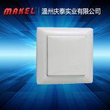 Interruptor de control del interruptor de pulsador del interruptor ligero del interruptor de la pared