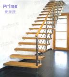 주문을 받아서 만들어진 주거 실내 똑바른 계단 디자인