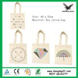 Petit sac d'emballage de toile avec le logo