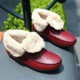Nuevas botas planas planas del estilo con atan para arriba (WX 10)