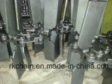 Ruspa spianatrice Conveyor Chain con Flight per Conveyor