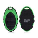 Cargador de pilas USB a prueba de agua Banco de la energía solar para el teléfono celular