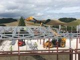 Vorfabriziertes Stahlkonstruktion-aufbauendes bestes Stahlgebäude für Lager (ZY111)
