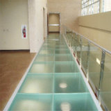 Assoalho Tempered do vidro laminado