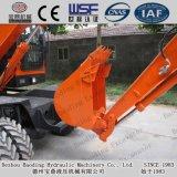 Máquinas escavadoras pequenas da roda de Baoding com motor de Xinchai