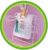 Мешок седловины HDPE ясный пластичный