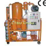 na máquina de filtração do petróleo do transformador da carga