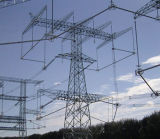 Tour en acier de transmission de courant électrique