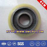 Roda do rolamento plástico de peças de maquinaria para o rodízio (SWCPU-P-W076)