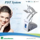 Máquina marcada del rejuvenecimiento LED de la piel de la reducción del acné del CE
