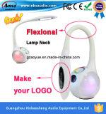El altavoz más nuevo de Bluetooth de la lámpara de escritorio del soporte del diseño LED