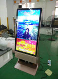 Sinais de publicidade digital do Super Market Floor Standing