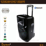 2600W Popular Bluetooth Wireless Active DJ portátil bateria recarregável alto-falante
