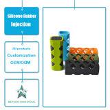 Modelagem por injeção eletrônica personalizada da caixa da pele do silicone do produto dos produtos da borracha de silicone
