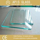 Broyage, perçage, sciage, polissage, CNC, Jet d'eau découpées, entaillage Grinding Tempered Glass