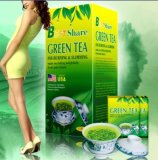 Slimming Green Tea, Herbal Health Care Tea for Weight Loss T0001