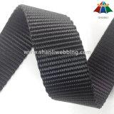 Singelband van de Polyester van 1.5 Duim de Zwaargewicht Zwarte Vlakke