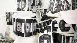 Escritura de la etiqueta auta-adhesivo del PVC de la etiqueta engomada adhesiva de papel de Pirnted (021)