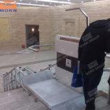 Elevatore diritto domestico idraulico elettrico della scala