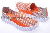 2012 chaussures tissées fabriquées à la main de mode