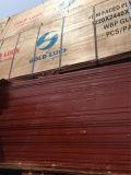 A película marinha enfrentou a madeira compensada