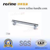 Poignée en aluminium de Cabinet de meubles de vente chaude avec le diamant (L-734)