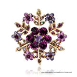 جديدة بسيطة نمو مجوهرات سبيكة كسفة ثلجيّة شكل [رهينستون] دبوس الزينة [3كلورس]