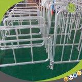 Stalle se pliante de gestation employant dans l'élevage de porc avec deux fonctions