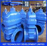Válvula de porta grande padrão do ferro de molde do GB