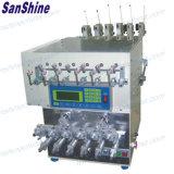 6개의 스핀들 철사 비틀어진 사람 Ss966t를 가진 자동적인 코일 감기 기계