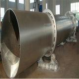 Secador giratório pequeno para a escória, carvão, Slime, secador da lama/cilindro giratório