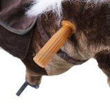 Jouet de marche de cheval d'oscillation de ressort de peluche pour le matériel de cour de jeu de gosses
