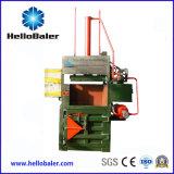 Presse per balle verticali della carta straccia della macchina imballatrice di Hellobaler