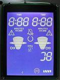 Pantalla reflexiva del LCD de los contadores de potencia del indicador del Tn