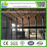Galvanizado e Powder Coated Steel Fence