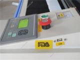 Machine de gravure en bois de laser de Plexiglass du tampon en caoutchouc FM-5030 mini
