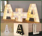 Segni della lampadina della lettera della Piombo-Lettera-Lampada LED per Wedding festa di Festiva