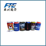 130 * 105 * 3mm Custom Neoprene Beer Can Cooler