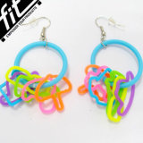 Fashion Design를 가진 Eco-Friendly Silicone Earrings
