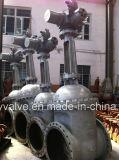 API/GOST/DIN Dn600 Pn25の電動機の鋳造物鋼鉄ゲート弁
