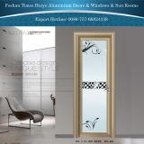 Aluminium Scharnierende Deuren voor de Binnenlandse Decoratie van de Badkamers met Bloemen
