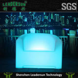 Sofá cambiable del color LED de los muebles del patio de Leadersun