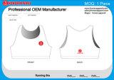 Venda quente Berathable nenhumas senhoras mínimas do fabricante de China da alta qualidade que funcionam o sutiã