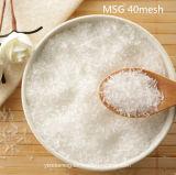 Het in het groot Super Witte Kristal van Msg van het Glutamaat van Aroma's Monosodium (40mesh)