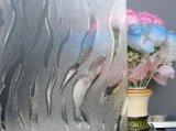 명확한 프레임 장식무늬가 든 유리 제품