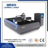Machine de découpage de laser de fibre d'acier inoxydable Lm4020g3 pour l'industrie de vaisselle de cuisine