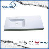 Polymarbleの浴室の洗面器の単一の洗浄手洗面器