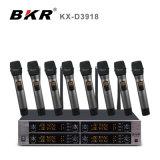 KxD3918 8チャネルの無線マイクロフォンシステム
