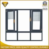 Foshan-Fabrik-Doppelt-thermischer Glasbruch-Aluminiumtür und Fenster (55 Serien)